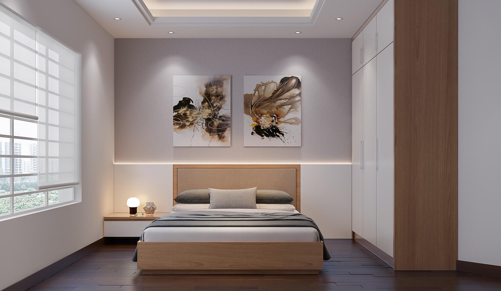 Minimalistic Bedroom interior Design